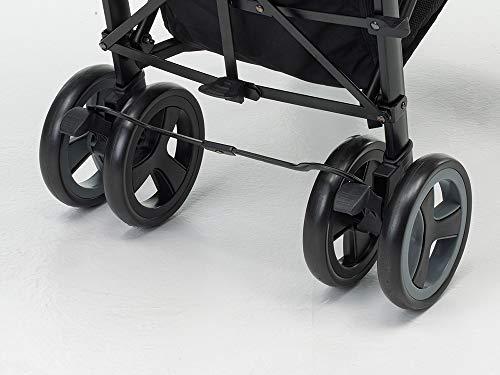 Foppapedretti Hurrà Passeggino Compatto per Bambini da 0 a 3 Anni, Oval Grey 3