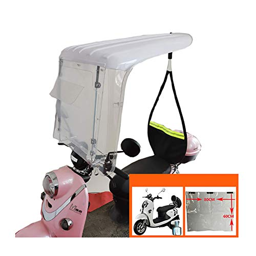 QYQYMJ Bicicleta Eléctrica del Impermeable, Conveniente For Eléctrico Bicicletas con Espejos Retrovisores,...