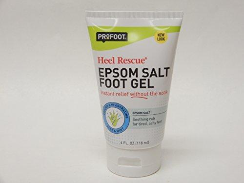 Profoot Epsom Salt Soothing Pain Rub Foot Gel, 4 fl oz (Pack of 2)