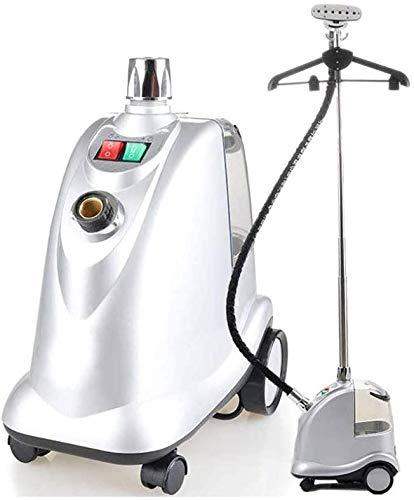 DSHUJC Aufrechter Dampfgarer mit Dampfstufe, 2000 W Profi-Dampfgarer mit 60 Unzen Wassertank, Stoffbürste für alle Kleidungsstücke