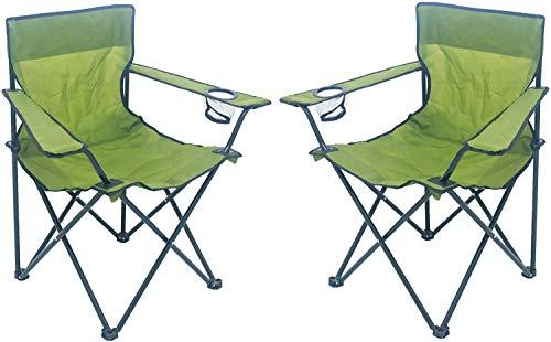 Sparmeile Ambientehome campingstoel, army/groen