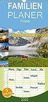 Salzkammergut, ueberraschend vielseitig - Familienplaner hoch (Wandkalender 2022 , 21 cm x 45 cm, hoch): Das Salzkammergut besticht mit Bergen, Seen und schoenen Aussichten. (Monatskalender, 14 Seiten )