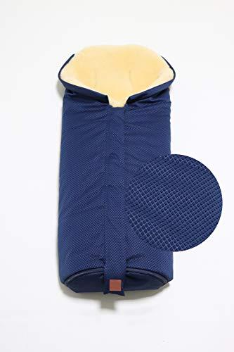 Kaiser 6721213 - Saco de abrigo para carrito de bebé (piel
