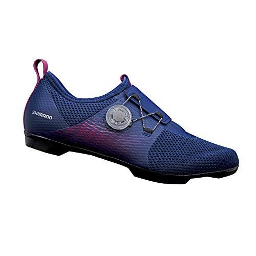 SHIMANO SH-IC500 High Performance Indoor Cycling Shoe, Purple, Womens EU 44 | Womens US 11-11.5