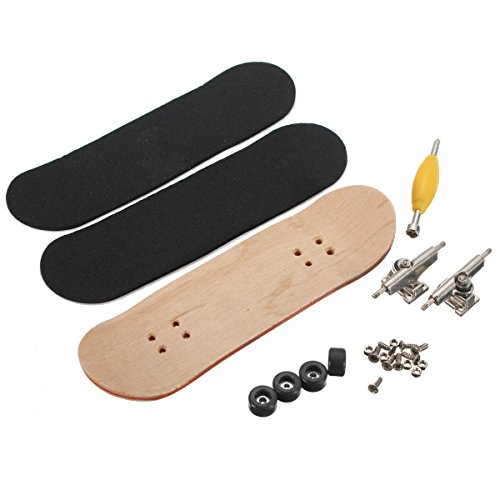 MJJEsports Houten Deck Vingerbord Skateboard esdoorn hout met lagers Kids Gift Decoraties