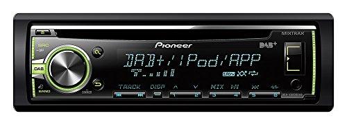Pioneer DEH-X6800DAB - CD-Tuner mit DAB+ Tuner, USB, Aux-In, iPod/iPhone-Direktsteuerung und MIXTRAX EZ