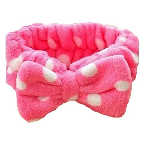 Milopon Bandeau Élastique Bande De Cheveux Stretchy Head Wrap avec Bow-Noeud Accessoires De Cheveux pour Femmes Fille 1pcs