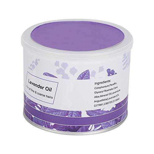 Kit de supresión de depilación, cera depilatoria suave, crema depilatoria para cara, axila, pierna para hombres y mujeres para peluqueros de salón(lavender)