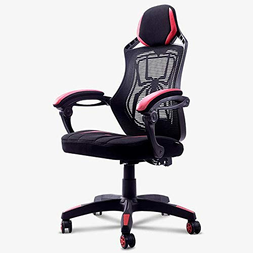 Gaming Chair, verstelbare High Back Office Chair, thuis Black Red Spiderman Cool Office Chair, bureaustoel met Spider Web
