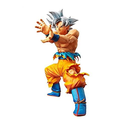 Khosd Dragon Ball DXF The Super Warriors Special Figure-Ultra Instinct Goku, Modelos De Juguetes Pequeños Y Exquisitos para Todos Los Amantes De Las Figuras De Acción De Anime - 18 cm