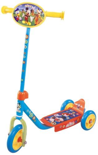 STAMP - DISNEY - MICKEY - J100046 - Vélo et Véhicule pour Enfant - Trottinette 3 roues Mickey