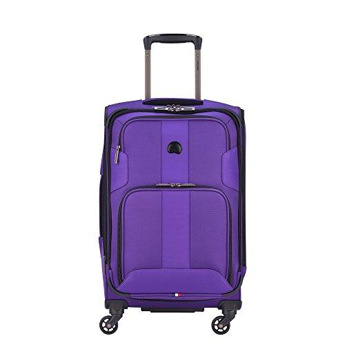 Delsey Paris Sky Max 2.0 Softside erweiterbares Gepäck mit Rollen, violett (Violett) - 403282820-08