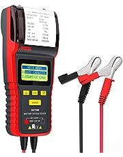 ANCEL BST500 12 V / 24 V 100-2000 CCA Automotive accutester voertuigdiagnose en laadvermogen van de lichtmachine analyzer tool met printer ook voor lichte vrachtwagens, auto's, motorfietsen en meer