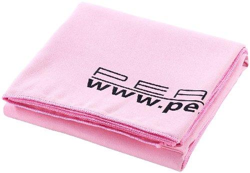PEARL Strandtuch: Extra saugfähiges Mikrofaser-Badetuch, 180 x 90 cm, rosa (Mikrofaser Badetücher Reisen)