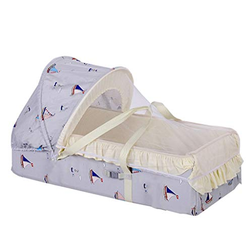 Mattresses Children's Bionic Bed Cradle Bed Movable And Portable Outdoor Bed In Bed Pillow-side Bay Window Cradle Gift On Anti-pressure Bed (Color : A, Size : 100 * 60cm)