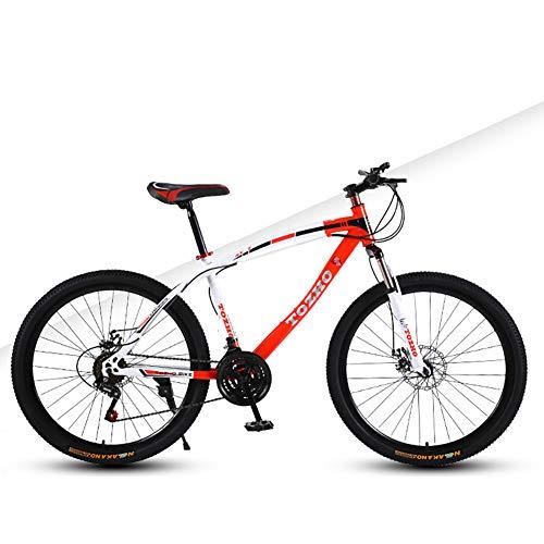 YJTGZ Bicicletas, para Hombres Y Mujeres Exterior De Viaje De Verano Estudiante, Size : 24Inch Marco De Acero De Alto Carbono Velocidad Variable De AbsorcióN De Impactos Estudiante Adolescente