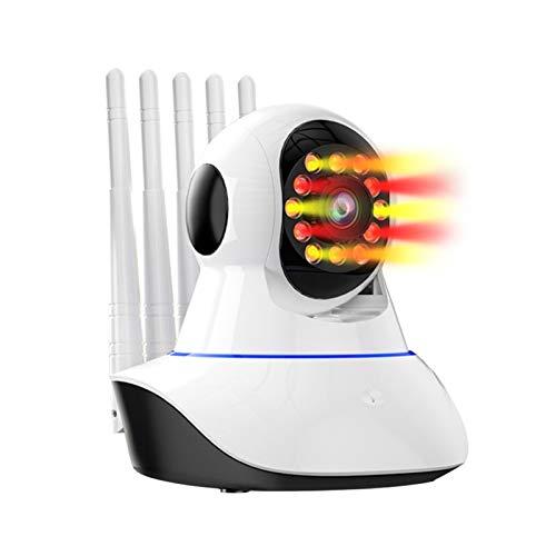 720P IP-Kamera Smart WiFi 5 Antenne Signalverstärkung Home Security Wireless Baby Monitor IR Nachtüberwachungskamera Pulley (Farbe: US)
