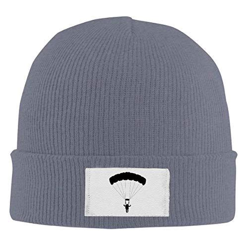 XCNGG Unisex Beanie Cap, Parachute Knitted Hedging Warme einfarbige Klassische Mütze für den täglichen Winter im Freien