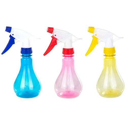 BESTOMZ 3 STÜCKE Sprühflasche Kunststoff Blumen Pflanzen Gießkanne Sprinkler Sprühflasche 250 ML (Zufällige Farbe)
