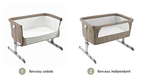 Chicco Next2Me Culla Neonato per Co-Sleeping in Tessuto, Beige. Collezione 2017