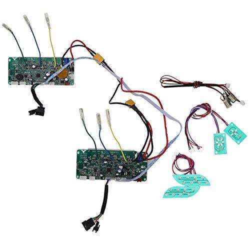minifinker Accesorios Inteligentes para Scooter de Equilibrio Inteligente de Dos Ruedas de Dos Ruedas Resistente al Desgaste, para Montar, para Scooters(36V-UL Power-on Self-Balancing)