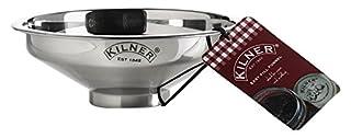 Kilner Stainless Steel Easy Fill Jam Jar Funnel, Silver, 14 x 14 x 5 cm (B00DTWJKJI) | Amazon price tracker / tracking, Amazon price history charts, Amazon price watches, Amazon price drop alerts