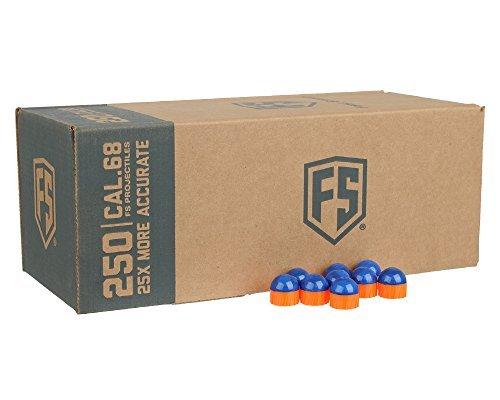 First Strike Tiberius Arms Paintballs (Blue/Orange Shell/Orange Fill, 40 Count)