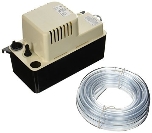 Little Giant 554415 VCMA-15ULST Automatic Condensate Removal Pump with Safety Switch and 20-Feet Tubing, Оne Расk