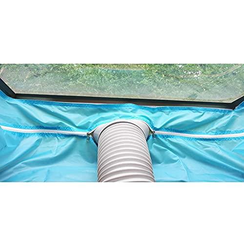 Bar Stools Sello de Ventana de Aire Acondicionado móvil 3.8 M Equipo de Parabrisas Partición sellada Ventilador Universal Ventilaciones para protección contra la Lluvia