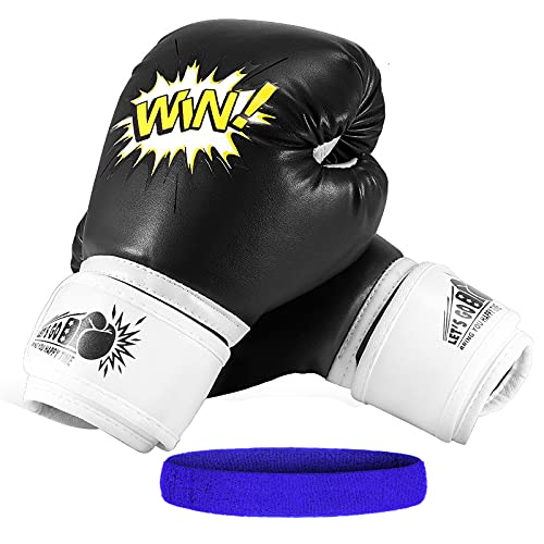 LetsGO toyz Boxhandschuhe Kinder, Spielzeug für Jungen 4-12 Jahre Kinderspielzeug ab 3-12 Jahre Geburtstagsgeschenk für Jungen Mädchen 4-12 Jahre Boxing Gloves Kids Boxsack Kinder