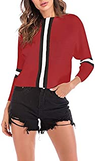 LUZAISHENG Autumn and Winter Retro Sweater 2020 Fashion (Color : Red, Size : XL)