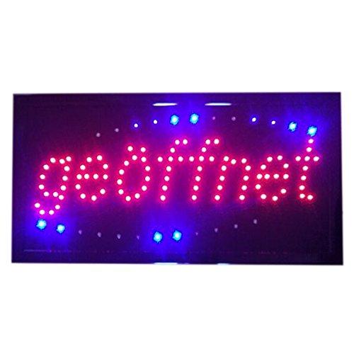 Bar Hause Laden Geschäft LED Neon Dekoration Leuchtung Beleuchtung Leuchten Lampe Zeichen Schild Lighting Sign Leuchtschild Werbungsschild geöffnet 220V