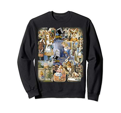 Alice im Wunderland Montage Sweatshirt