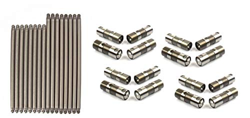 Elgin Industries Push Rods & Roller Lifters compatible with 2001-09 Chevrolet GMC Truck 8.1L Vortec Engines