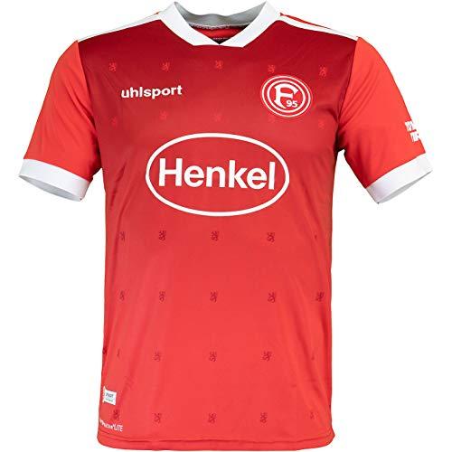 uhlsport Fortuna Düsseldorf Replica Trikot Home 20/21 (S, rot/weiß)
