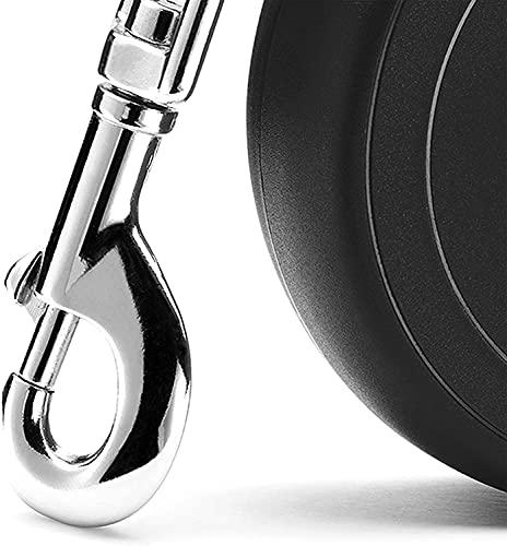 flexi Roll-Leine New Classic M Seil 5 m schwarz für Hunde bis max. 20 kg - 4