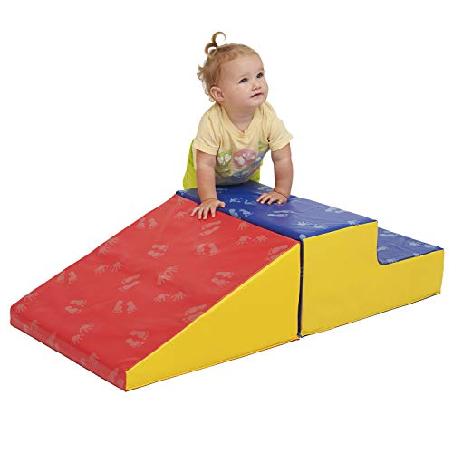 Cheapest Price! ECR4Kids SoftZone Little Me Play Climb and Slide, Primary (2-Piece)