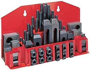 JET CK-12 58-Piece Clamping Kit with Tray for 5/8-Inch T-slot
