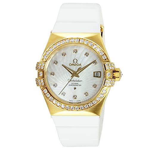腕時計 OMEGA(オメガ) 123.57.35.20.55.003 ホワイトパール文字盤 レディース [並行輸入品]
