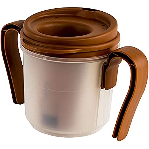 PROVALE - Regulating Drinking Cup, For Individuals Who Suffer from Swallowing Disorders Such as Dysphagia, Dispenses 5cc of Liquid Each time the Cup is Put Down & Lifted, Without the Use of Thickeners