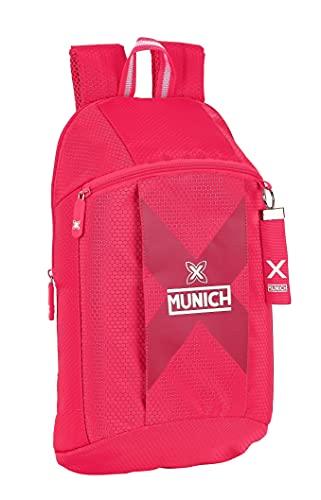 safta Mini Mochila Uso Diario de Munich Cherry, 220x100x390 mm