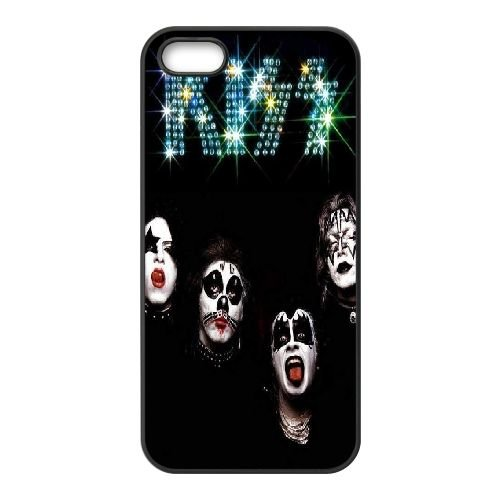 Sabcase Kiss iPhone 5,iPhone 5s Cover, Kiss Personalized Durable Cover Case for iPhone 5,iPhone 5s