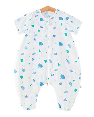 Emmala Baby Schlsfack Unisex Kids Lente Casual Chic Zomer Slaapzak Pyjama Met Benen 100% Katoen Romper Voor Jongen En Meisje Ananas 100 Lichaam Maat 110 120Cm
