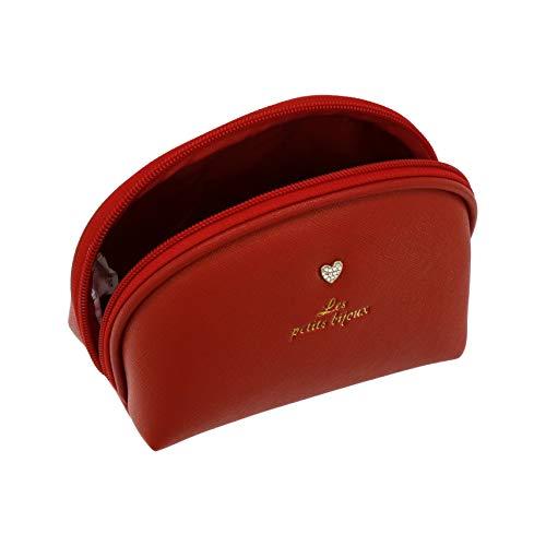 Camomilla Milano-Pochette ronde S petits bijoux rouge