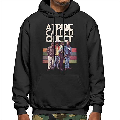 A Tribe Called Quest Hoodie Mens Active Long Sleeve Shirt Fashion Pullover XL Black