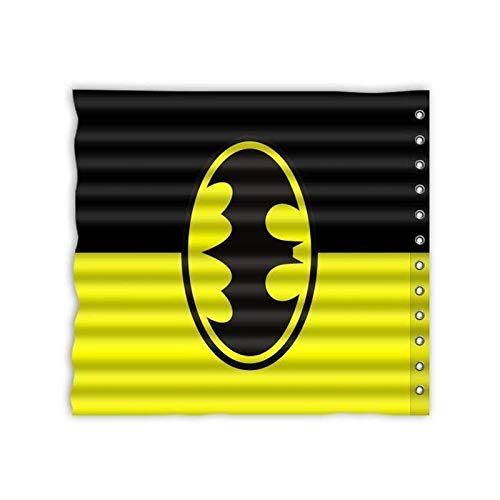 BANGSUN Duschvorhang mit Batman-Motiv, wasserdicht, digital