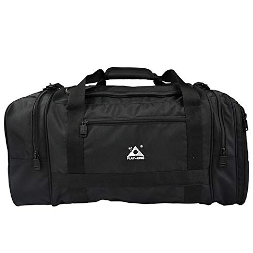 Aerolite valigia bagaglio a mano for gli uomini e le donne - Borsa holdall sedia di corsa esterna, la pesca for il tempo libero attrezzatura sportiva multifunzionale borsa da viaggio ( Color : Black )
