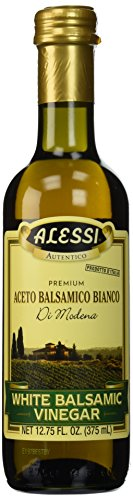 Alessi Vinegar, White Balsamic, 12.75-Ounce (Pack of 6)