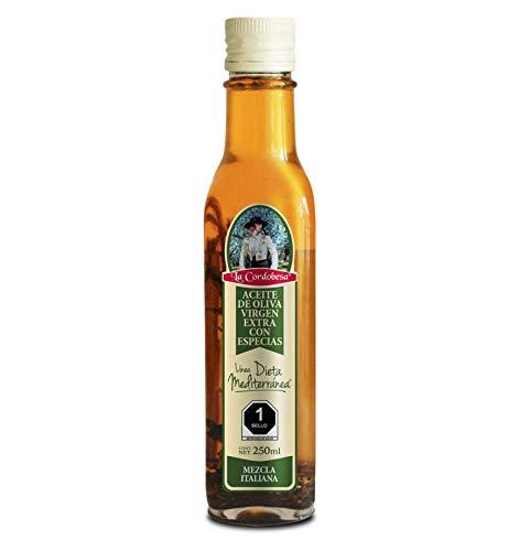 La Cordobesa Aceite de Oliva Virgen Extra Mezcla Italiana, 250 ml