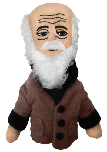 The Unemployed Philosophers Guild Charles Darwin Finger Puppet and Refrigerator Magnet - for Kids and Adults